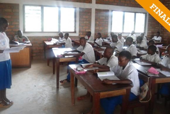 Mejora del equipamiento pedagógico. Bangui – República Centroafricana