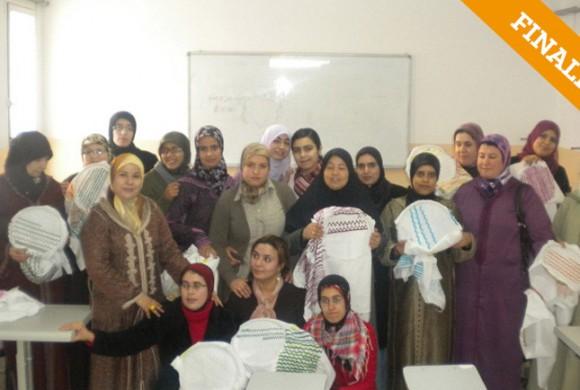 Talleres de costura-bordado con mujeres. Nador-Marruecos
