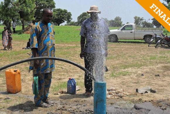 Acceso al agua potable. Poblado Lolo. Kandi – Benin