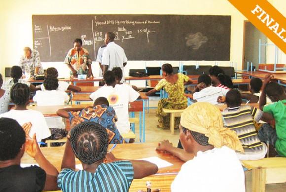Centro de Jóvenes. Ouagadogou – Burkina Faso