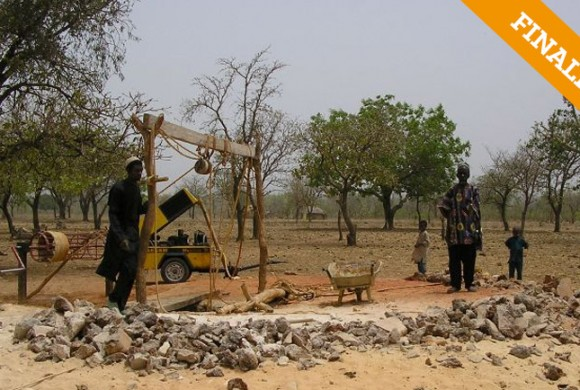 Acceso al agua potable. Poblado Loussi. Kandi – Benin