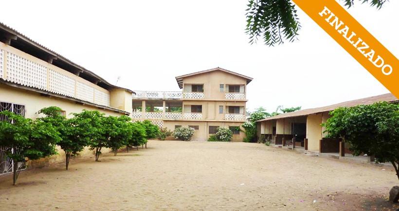 """Mejoras del Centro de Aprendizaje Profesional """"María Auxiliadora"""" Lomé – Togo"""