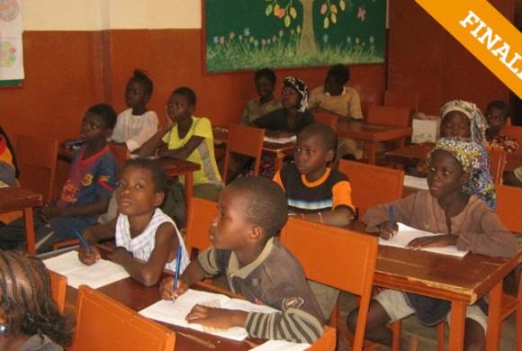 Educación básica de menores. Bobo Diulasso – Burkina Faso