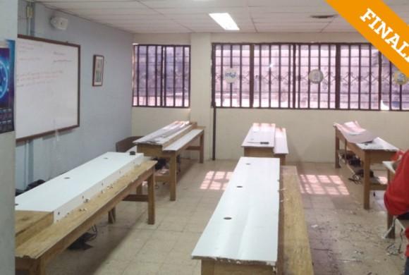 Actualización del aula de sistemas. Cartagena de Indias-Colombia