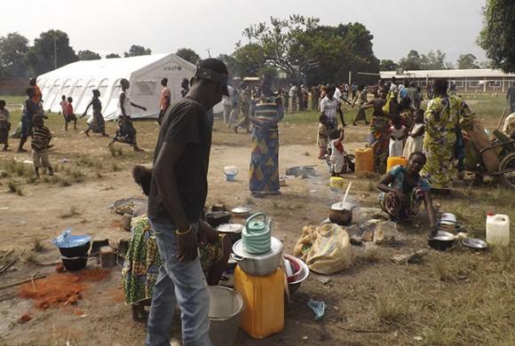 La vida de los centros Salesianos de Bangui
