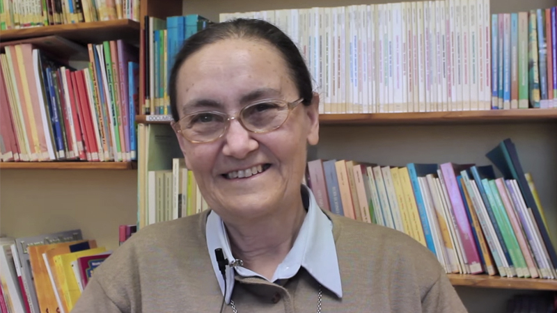 Entrevista a Bernarda García, salesiana responsable de la AFO