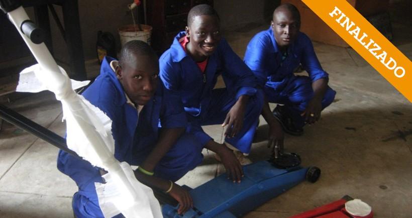 Renovación Centro Profesional Don Bosco. Parakou – Benín