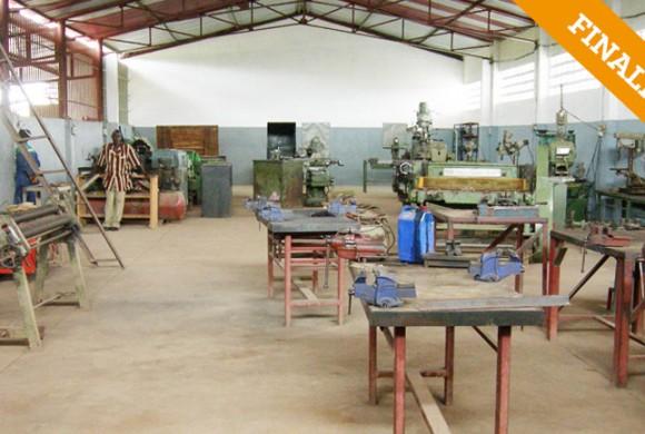 Equipamiento talleres Centro Don Bosco. Kankan – Guinea Conakry