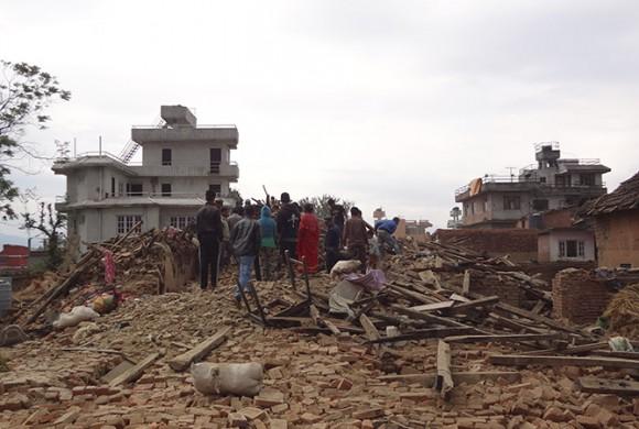 Emergencia en Nepal