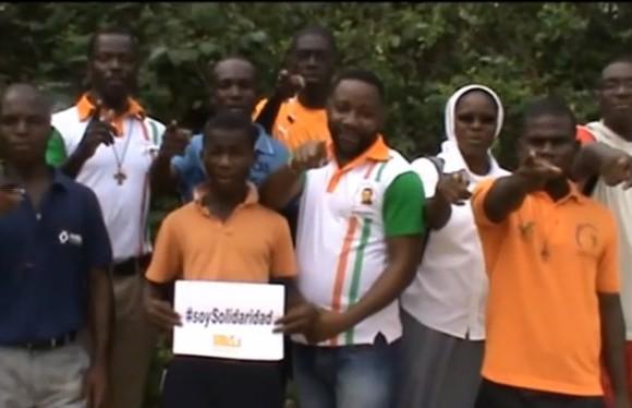 #soySolidaridad desde Costa de Marfil