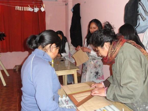 Capacitación de Mujeres. El Alto – Bolivia
