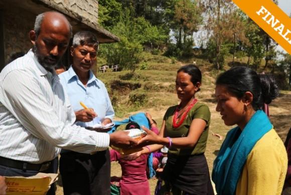 Ayuda en la Emergencia y en la Reconstrucción Nepal