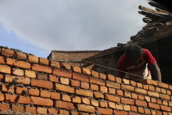 La reconstrucción en Nepal