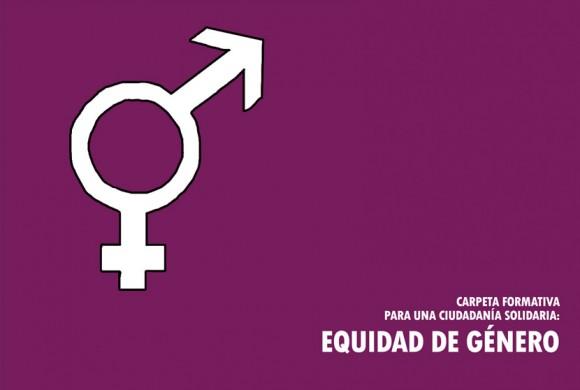 Equidad de género – Tema formativo