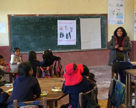 Prevención y atencion integral a la violencia intrafamiliar en Muñecas (Bolivia)