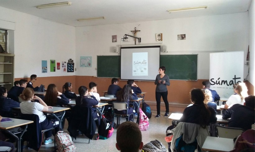 Semana de la solidaridad en el colegio salesiano de Córdoba