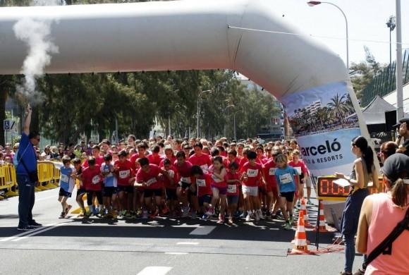 IX Carrera popular María Auxiliadora a favor de Touba en Las Palmas