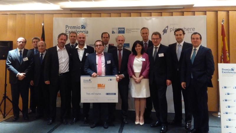 Solidaridad Don Bosco recibe una donación de la Cámara de Comercio Alemana
