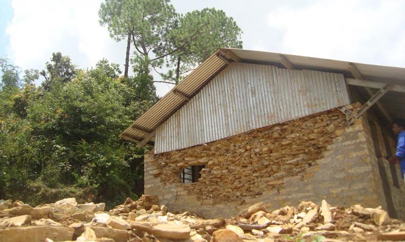 Avanzando en la reconstrucción de escuelas en Nepal