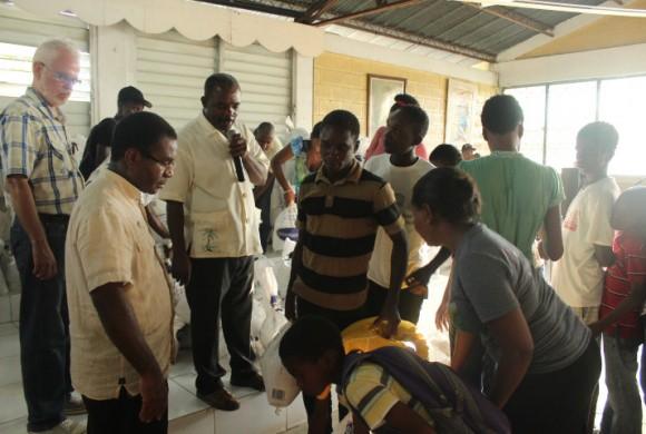 Labores de emergencia de los Salesianos en Haití