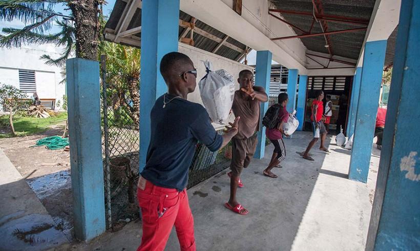 Haití: los salesianos continúan con el reparto de ayuda y planifican la reconstrucción