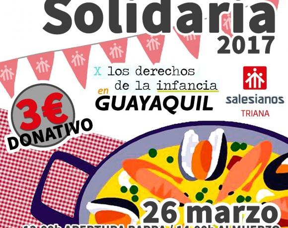 Paella Solidaria 2017 en Triana