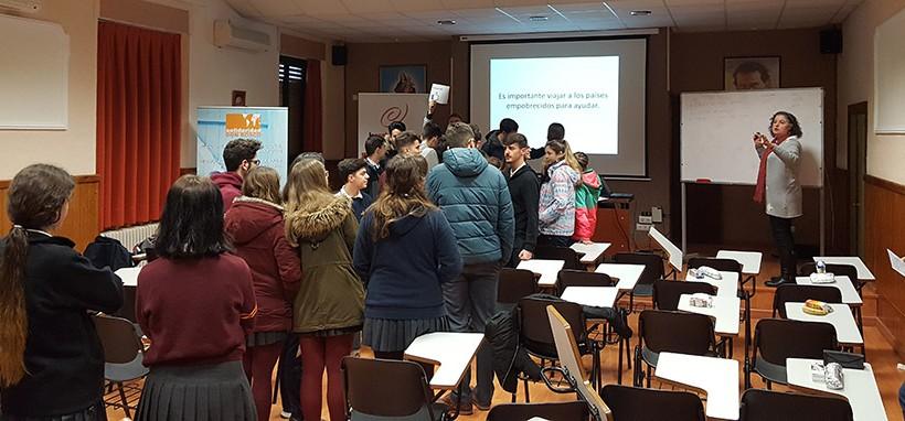 Semana Solidaria en en el centro San Francisco de Sales de Córdoba