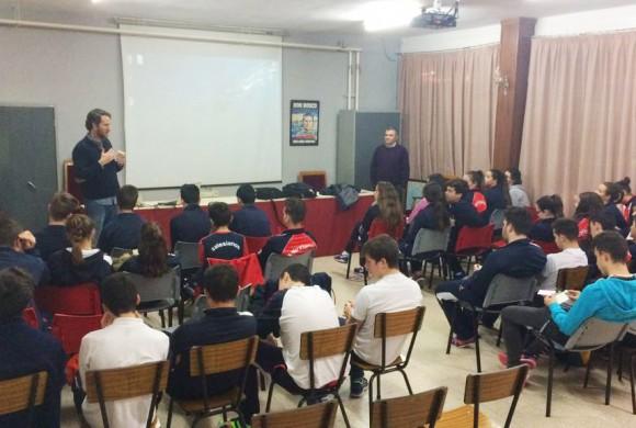 Sensibilización en el colegio San Agustín de Linares
