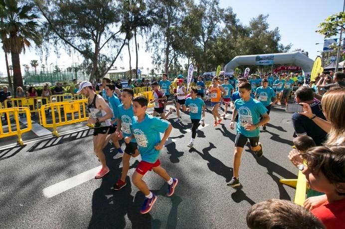 Más de 900 participantes en la X Carrera Popular María Auxiliadora de Las Palmas