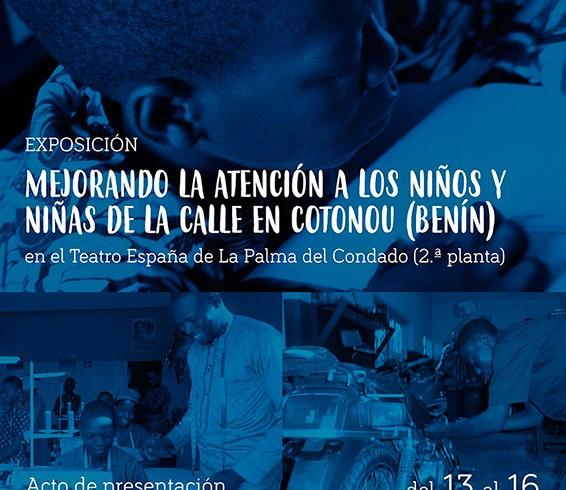 Solidaridad Don Bosco presenta una exposición sobre los niños y niñas de la calle de Benín