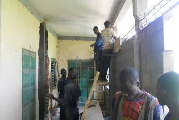Comienzan las obras en el Centro Don Bosco de Kara