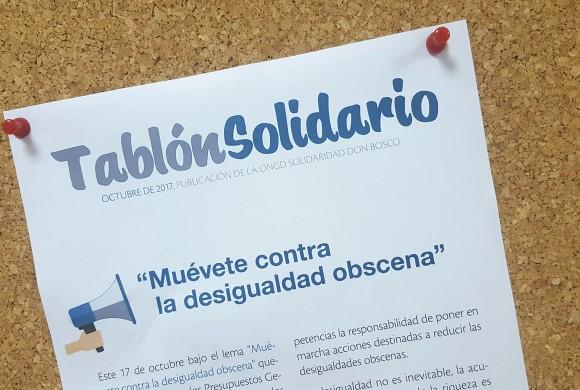 ¡Estrenamos Tablón Solidario!