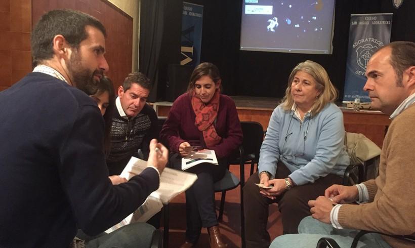"""Sesiones formativas con el profesorado del proyecto """"Somos más"""""""