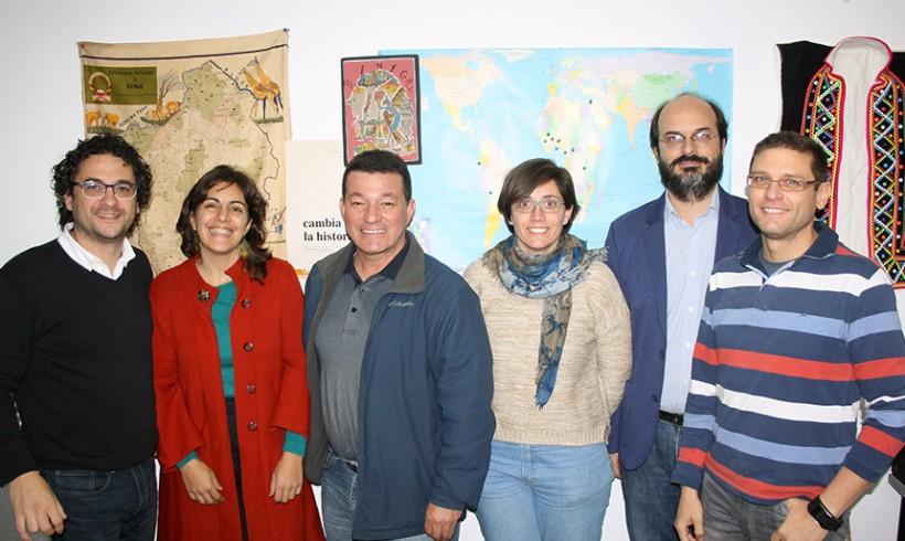 Visita del director del Centro Juan Bosco Obrero de Ciudad Bolívar (Colombia)