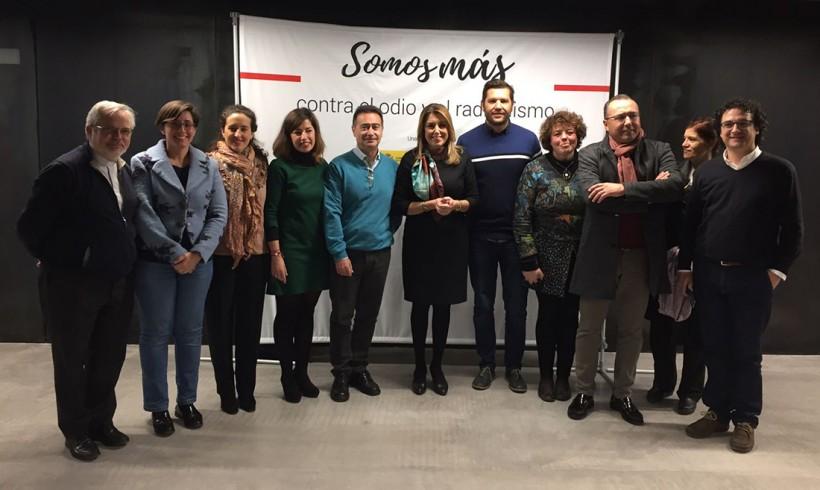 """Acto de presentación del proyecto """"Somos más"""" en CaixaForum Sevilla"""