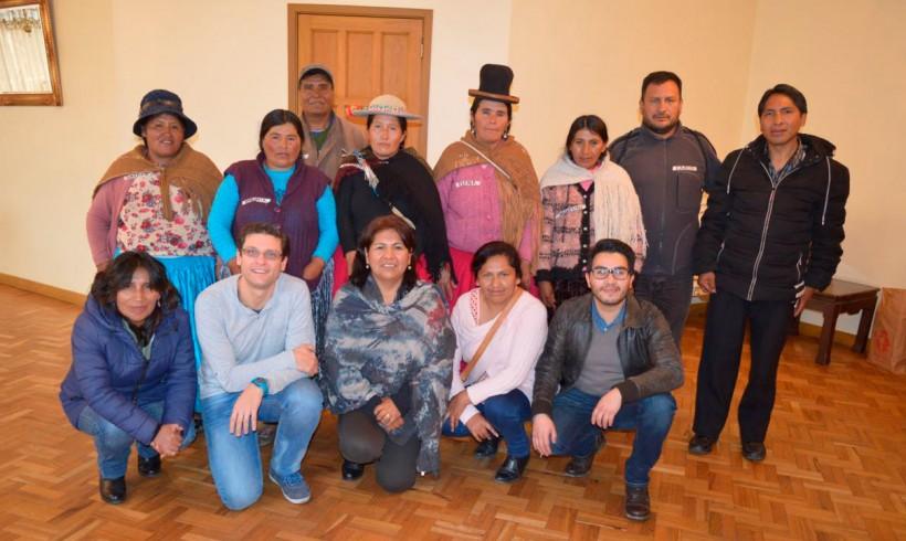 Solidaridad Don Bosco visita Bolivia