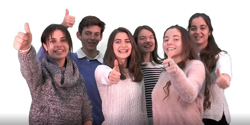 """La juventud, protagonista del vídeo """"No hay sueños imposibles. ¡Adelante!"""""""