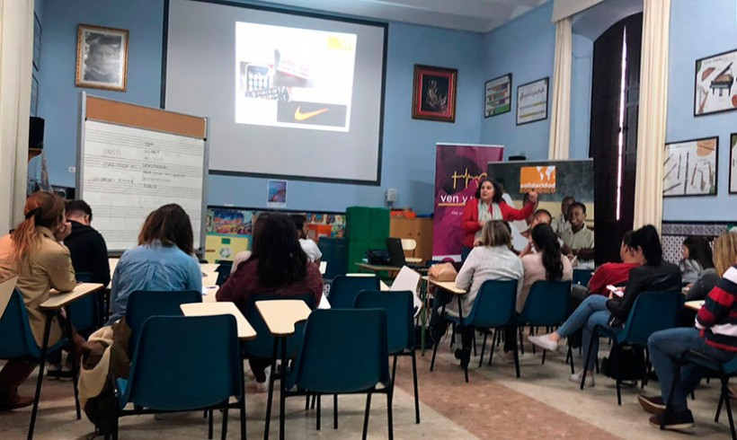 Presentación del Voluntariado en Morón de la Frontera