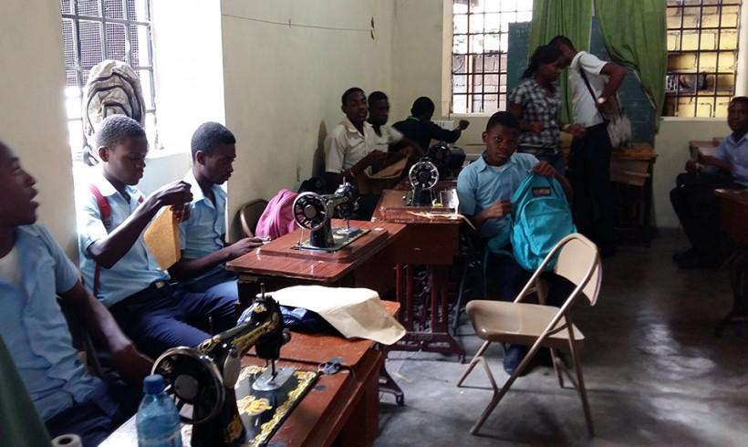 Viaje al proyecto de Formación Profesional en Haití