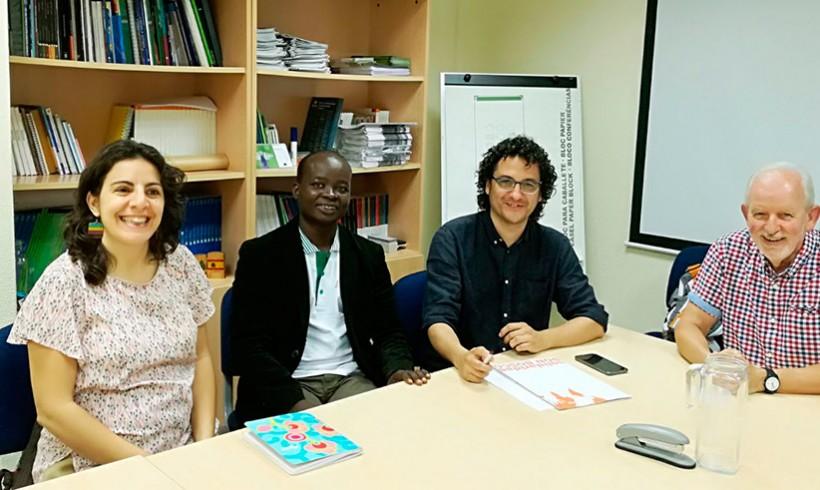 Reunión con el socio local de África Occidental y la Diputación de Sevilla