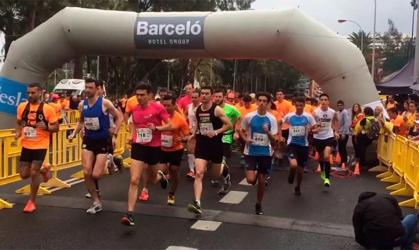 Éxito de participación en la XI Carrera Popular Mª Auxiliadora en Las Palmas