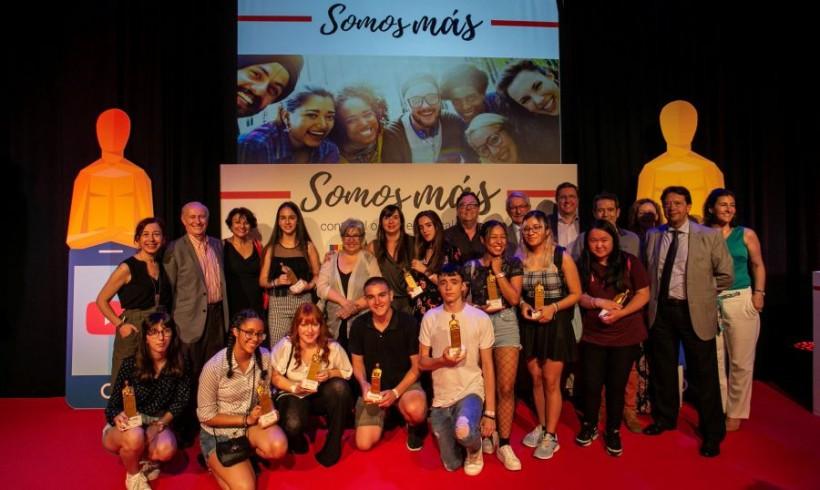 """Acto de entrega de premios y resultados del proyecto """"Somos más"""" en Madrid"""