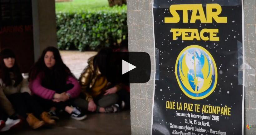 #StarPeace18: vídeo del II Encuentro Estatal de jóvenes en Barcelona