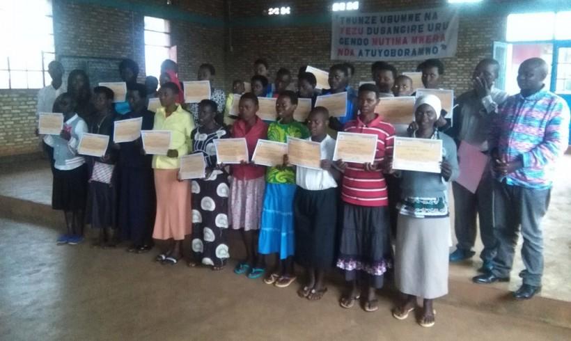 Un futuro mejor para las jóvenes de Burundi