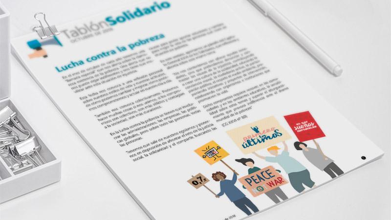 ¡Ya disponible el Tablón Solidario de Octubre!
