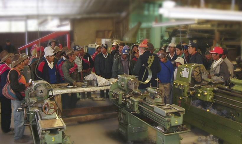 Iniciamos proyecto de mejora de la producción de las comunidades rurales de Cochabamba (Bolivia)