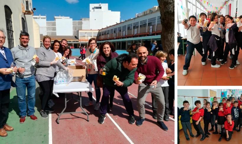 Bocados solidarios en el colegio Salesiano de Cádiz