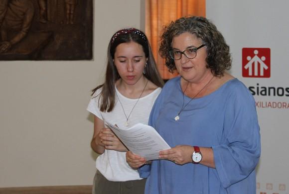 """""""El contacto con las personas migrantes me hará ser más sensible a esta realidad"""", testimonio de Inés Navarro"""