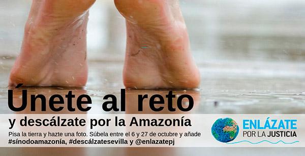 Solidaridad Don Bosco apoya el Sínodo de la Amazonía #Descálzate