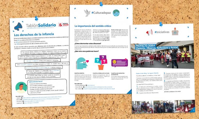 Tablón Solidario de Noviembre 2019